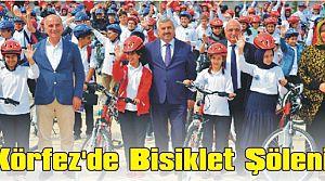 Körfez'de Bisiklet Şöleni