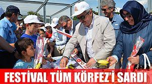 Körfez'de festival coşkusu