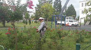 Köseköy Kent Park Aydınlatıldı