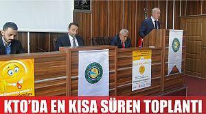 KTO Eylül Ayı Meclis Toplantısını Gerçekleştirdi