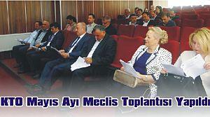 KTO Mayıs Ayı Meclis Toplantısı Yapıldı