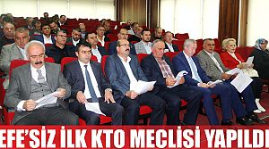 Mustafa EFE'siz İlk Meclis