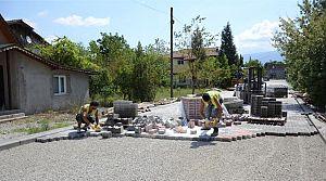 Sarımeşe'de parke seferberliği