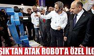 Işık'tanGebzeli Atak Robota özel ilgi