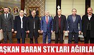 Başkan Baran STK'ları ağırladı