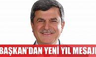 Başkan Karaosmanoğlu Yeni yıl mesajı