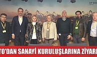 KTO'DAN SANAYİ KURULUŞLARINA ZİYARET
