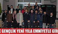 AK Genç Körfez'den görevli polislere ziyaret