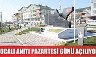 Körfez'de yapılanHocalı Anıtı açılıyor