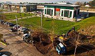 Başiskele, Kent Meydanı'nda Otopark Alanı Genişletiliyor