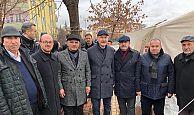 Başkan Söğüt Elazığ'da Bakanlarla birlikte inceleme yaptı