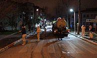Körfez#039;de, Cadde ve sokaklar her gün yıkanıyor