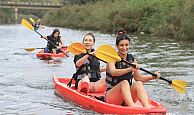 İzmitli atletizmciler Sarısu Gençlik Kampı'nda moral depoladı