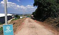 Körfez Himmetli köy yolu genişletiliyor