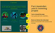 Med Marine Tuncer Şen Fen Lisesinden yeni e-twinning projesi