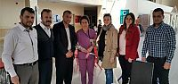 AK Parti İzmit'ten Sağlık çalışanlarına ziyaret