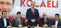 AKP Diyarbakır heyetinden Kocaeli'ne ziyaret