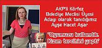 AKP 'li Körfez Meclisi Üyesi Adayı Aşar oy pusulasının fotoğrafını çekip yayınladı