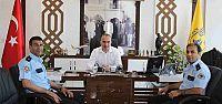 Asayiş Büro Amiri İsmail Yıldırım'dan Başkan Yıldırım'a Ziyaret