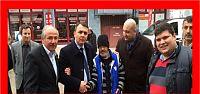 Ayazma'da seçim ofisi açılışı