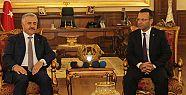 Bakan Arslan Vali Aksoy'u ziyaret etti