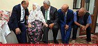 Bakan Işık, Başkan'ın ailesini ziyaret etti