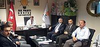 Baran, Badem ve yönetimine iadeyi ziyarette bulundu