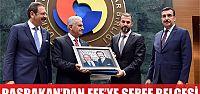 Başbakan'dan Mustafa Efe'ye şeref belgesi