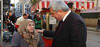 Başkan, Akça Camii esnafını ziyaret etti