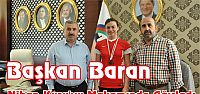 Başkan Baran Nihan Kuru'yu Makamında Ağırladı