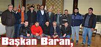 Başkan Baran, Pazarcıları Ağırladı
