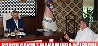 Başkan Baran, Sami Çakır'ı Makamında...