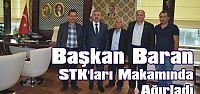 Başkan Baran STK'ları Makamında Ağırladı