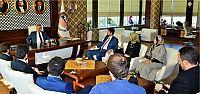 Başkan Baran, TÜGVA' yı Ağırladı