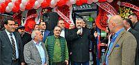 Başkan Baran, Tütünçiftlik Eczanesinin Açılışını Yaptı