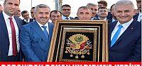 Başkan Baran'dan bakan Yıldırım'a hediye