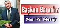 Başkan Baran'ın Yeni Yıl Mesajı