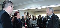 Başkan Bulut'un konuğu bilgi evi ailesi oldu