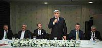 Başkan, Danıştay Üyeliğine seçilen Taha Erdinç Bülbül'e veda yemeği verdi
