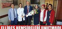 Başkan Ellibeş, Hemşireler haftasını...
