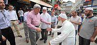 Başkan Karaosmanoğlu, Kandıra'da esnafla buluştu
