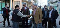 Başkan Karaosmanoğlu'ndan teşekkür ziyaretleri