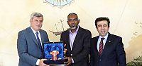 Başkan, Maldivli Bakanı ağırladı
