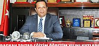 Başkan Toltar'ın eğitim öğretim yılı