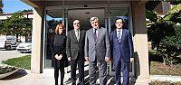 Başkan,Kartonsan'ı ziyaret etti