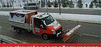 Büyükşehir Kar Timleri 24 saat görev yapıyor
