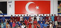Büyükşehirli güreşçiler, Makedon Güreşçilerle Kamp Yapıyor
