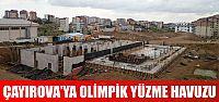 Çayırova'ya yarı olimpik yüzme havuzu yapılıyor