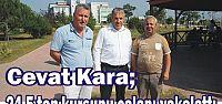 Cevat Kara; 24,5 ton kurşunu çalanı yakalattı...