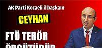 Ceyhan; FTÖ Terör örgütüdür